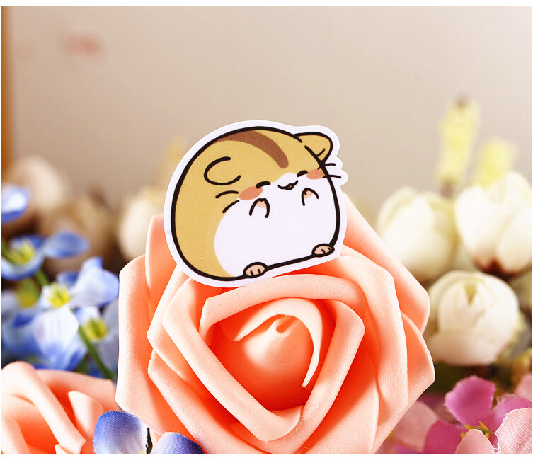 40 Pcs Kawaii Hamster Sticker