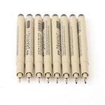8 Pcs Pigma Micron Pen Set