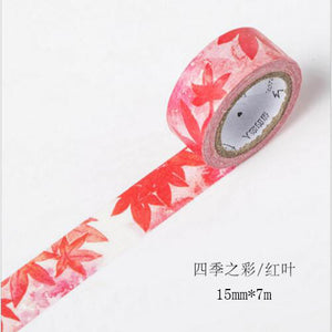 Flower Bloom Premium Washi Tape