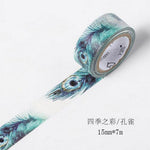 Flower Leaf Washi Tape