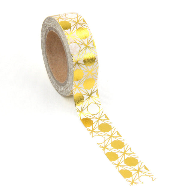 Golden Fruits Premium Washi Tape