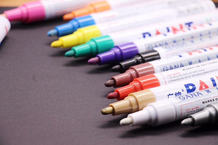 Waterproof Pen| Permanent Paint Markers| Graffiti Oily Marker Pen|