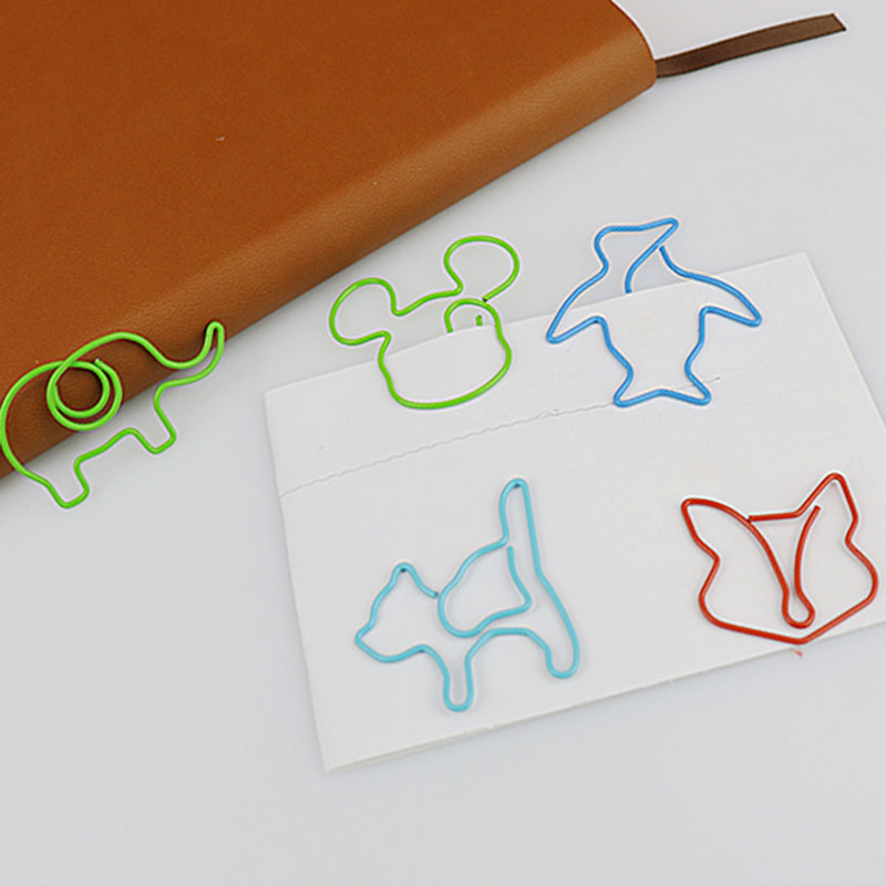 30 Pcs Cartoon Clip