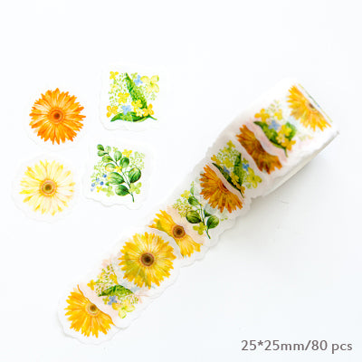 Sakura Water and Flower Color Washi Tape