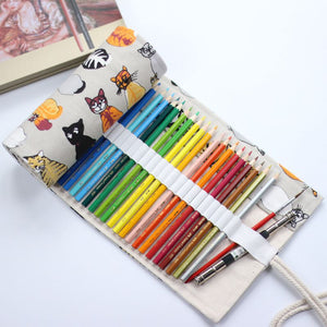 National Canvas Pencil Case
