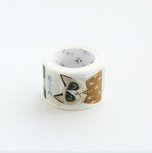 Cute Cat Patterns Washi Tape