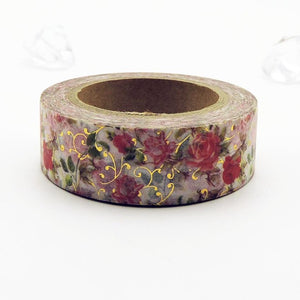 Flower Foil Premium Washi Tape