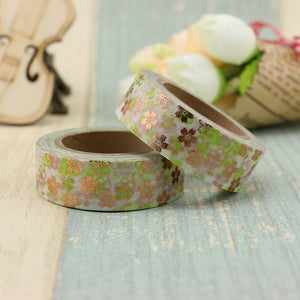 Vintage Plants Washi Tape