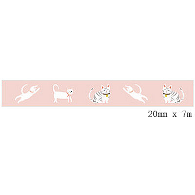 Cute Assorted Animals Washi Tape