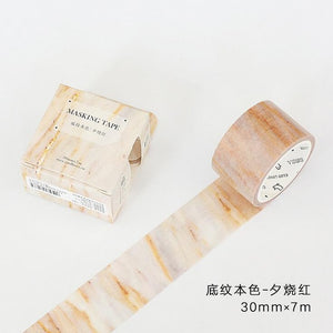 Pastel and Wood Washi Tape