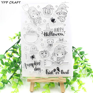 Holloween Clear Stamps