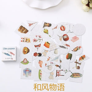 The Cartoon Sticker Set