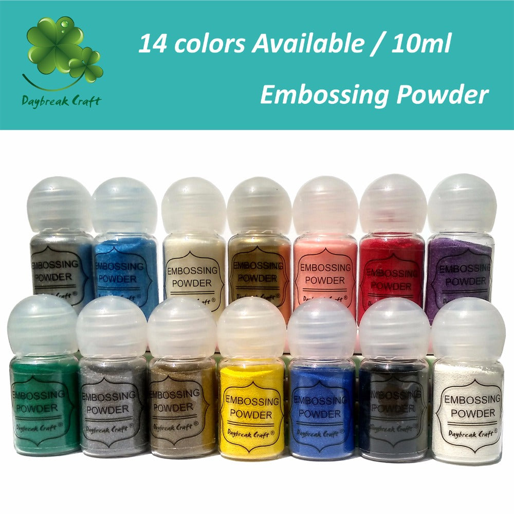 Metallic Paint Powder For Scrapbooking