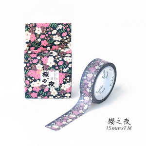 Shades Of Blossom Premium Washi Tape