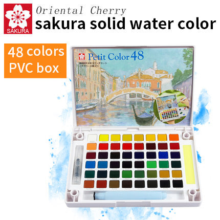 Sakura Watercolor | Portable Solid Watercolor Painting