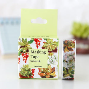 The Nature Lovers Washi Tape