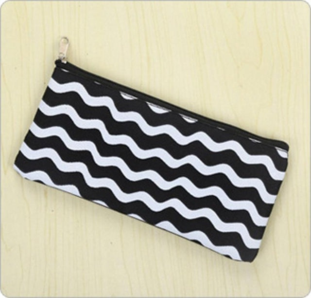 Black & White Pencil Case