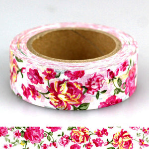 Japanese Flower Washi Tape