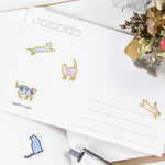 100 Pcs Cute Cat Stickers