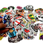 100 Pcs PVC Stickers