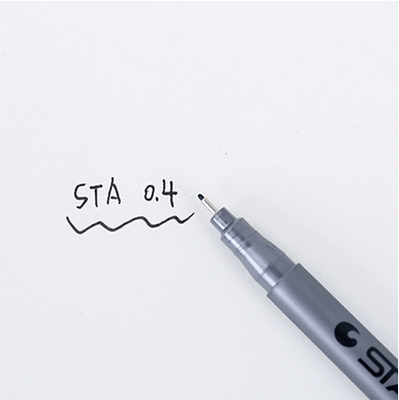 STA Water Resistant Fine Point Set