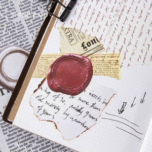 45 Pcs Vintage Wax Seal Stickers