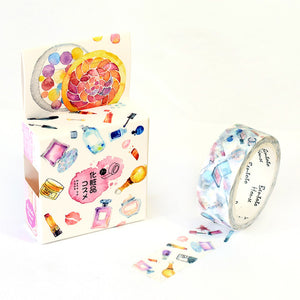 Washi Tape Kawaii Set Animals, Flowers, Nature