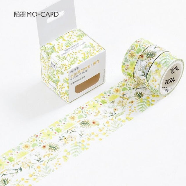3 Pcs Colors Of The Earth Washi Tape