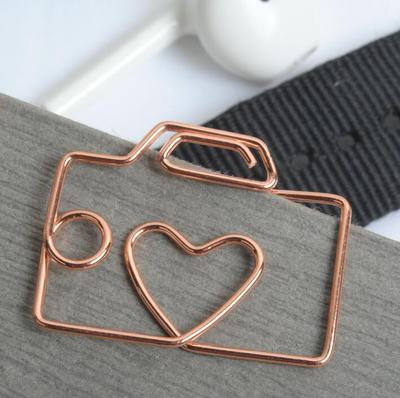 Rose Gold Paper Clip