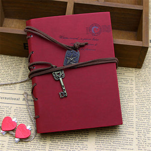 Faux Leather Key Journal