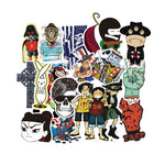 100 Pcs Mixed Cartoon Stickers