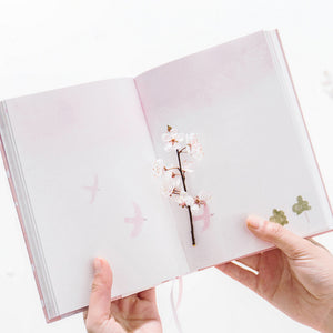 Sakura Journal Dotted Page A5