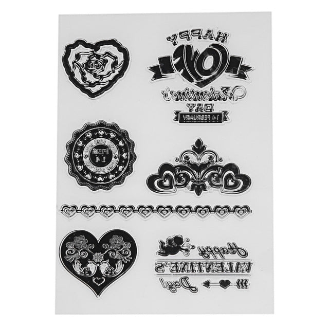 Love DIY Clear Stamps