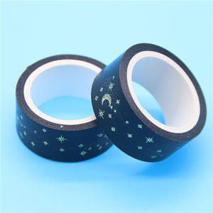 Black Moon Washi Tape