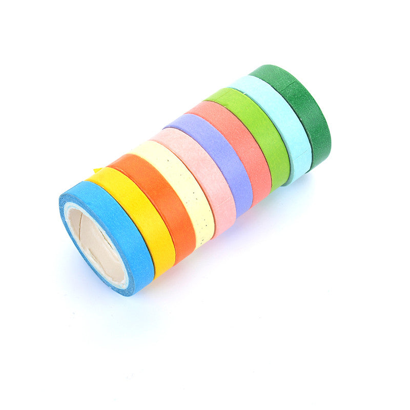 10-Pack Candy Washi Tape Set