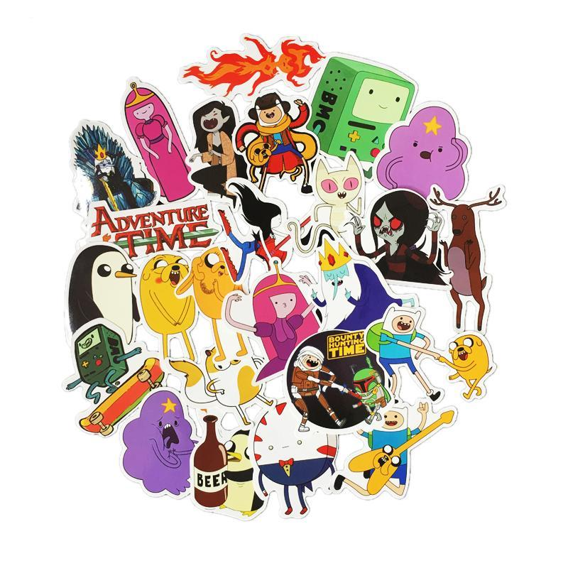 30 Pcs Adventure Time Stickers