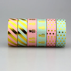 Assorted Gold Washi Tape