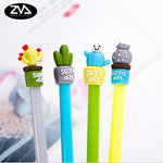 4 Pcs Cactus Kawaii Pen