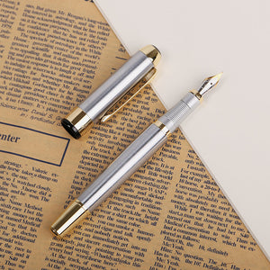 Metallic Gold Medium Size Fountain Pen