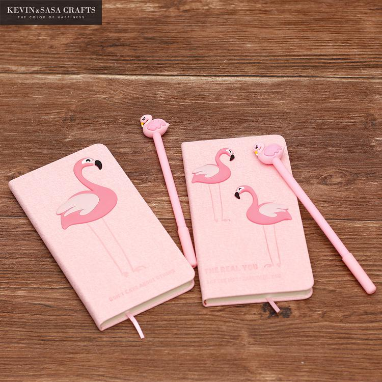 Flamingo Journal With Free Pen