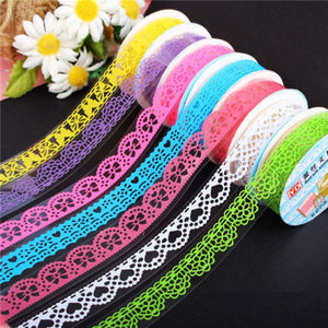 The Lace Pattern Premium Washi Tape