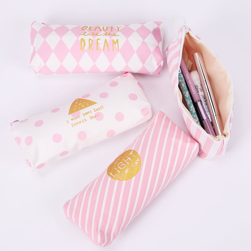 Fresh Pink Pencil Case