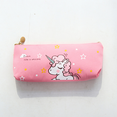 Unicorn + Flamingo Pencil Case