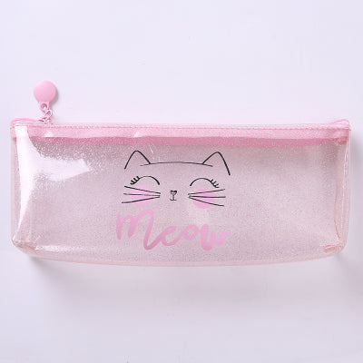 Transparent Flamingo Pencil Case