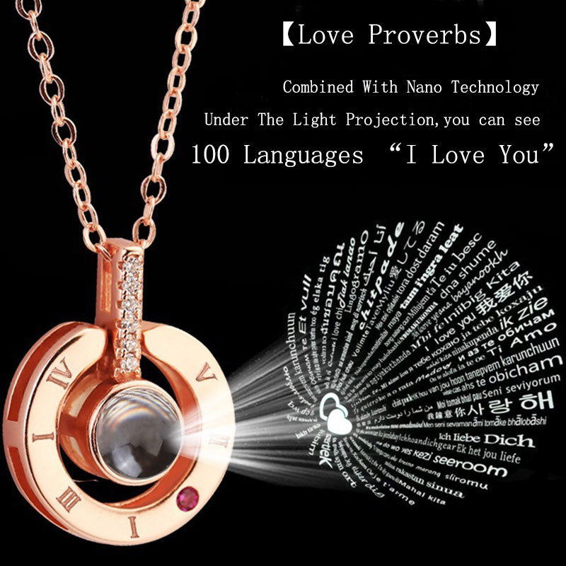 I love You Light Pendant