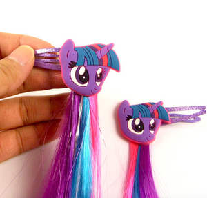 Unicorn Cartoon Hair Clips