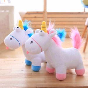 Cartoon Unicorn Cuddly Toy