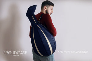 THE IVORY ROYAL NAVY BLUE Proudcase oud case by proudcase for oud players soft case hard case @oudcase @OUD_CASE #oudcase #oudplayer #oud #softcase #hardcase @oud @oudplayer @softcase #gigbag