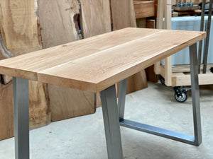 Oak Desk  - With your choice of legs... Made to Order