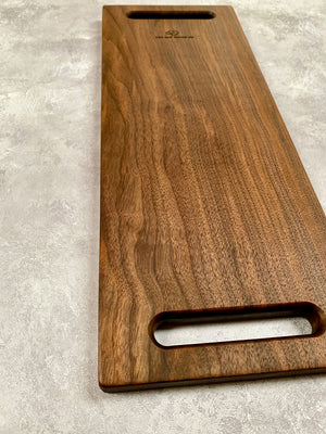 Contemporary Walnut Serving board #4155